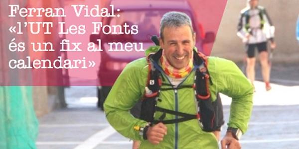 Ferran Vidal: «l'UT Les Fonts és un fix al meu calendari»