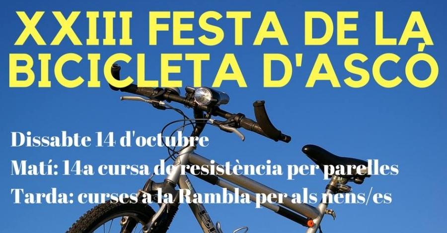 XXIII Festa de la bicicleta d'Ascó