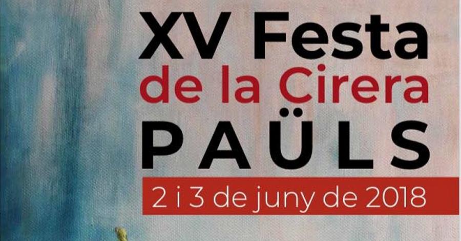 XV Festa de la Cirera de Paüls