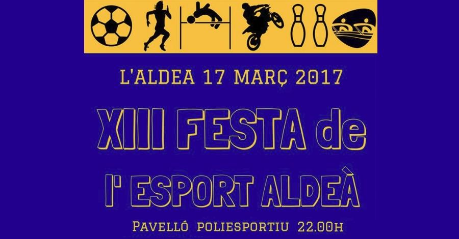 XIII Festa de l'Esport de l'Aldea