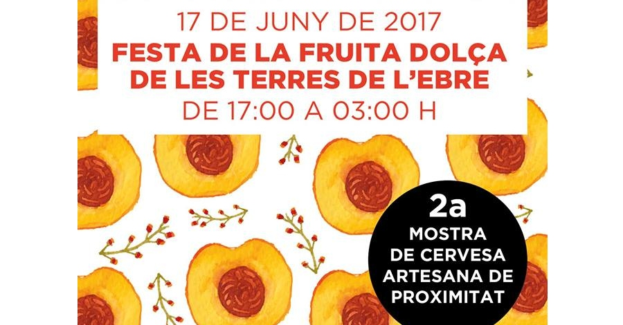 Tastafruit 2017. Festa de la Fruita Dolça de les Terres de l'Ebre
