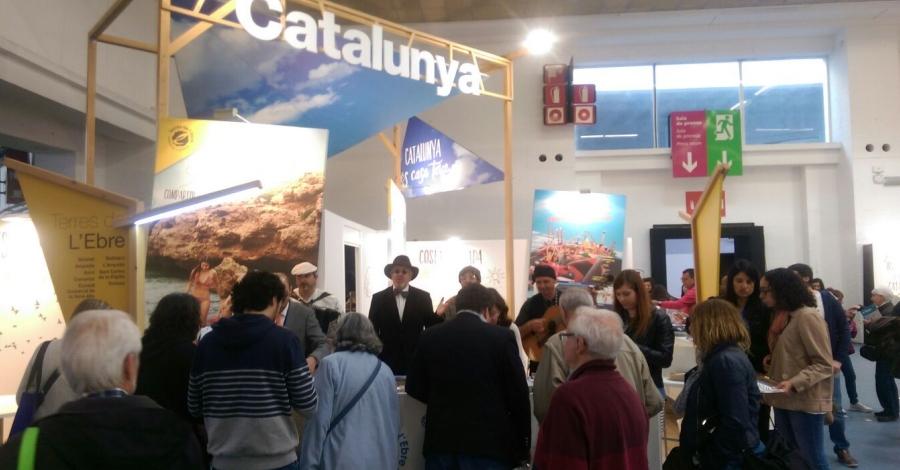 La Festa del Mercat d'Amposta es promociona al Saló Internacional de Turisme B-Travel