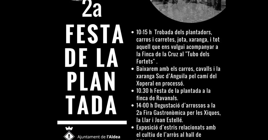 2a Festa de la Plantada a l'Aldea