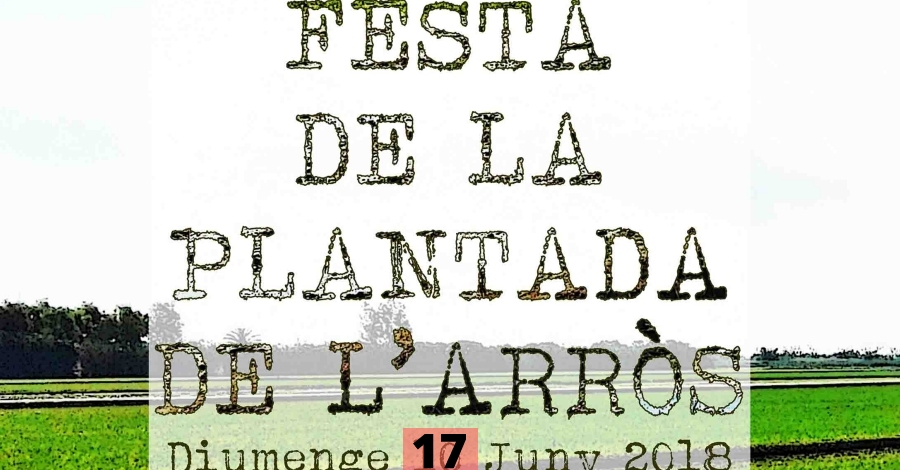 XI Festa de la Plantada a l'Ampolla (ajornada al 17 de juny)