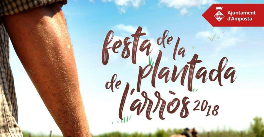 XXIX Festa de la Plantada de l'Arròs. Amposta 2018
