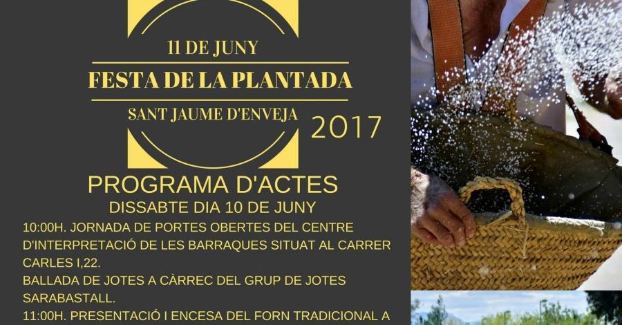 Festa de la Plantada de Sant Jaume d'Enveja
