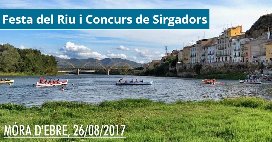 Festa del Riu i VII Concurs de Sirgadors de l'Ebre