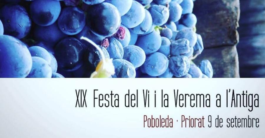 XIX Festa del Vi i la Verema a l'Antiga