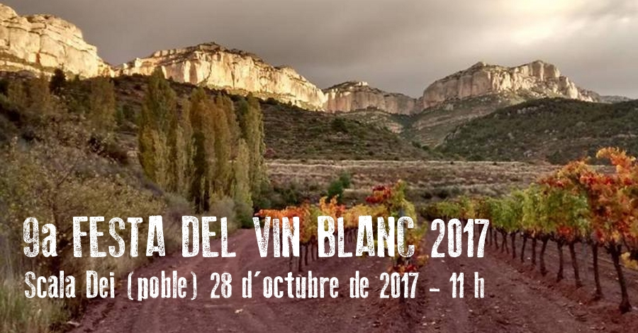 9a Festa del Vin blanc a Scala Dei (poble)