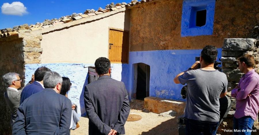 Horta de Sant Joan finalitza la rehabilitació del Mas de Burot, que serà visitable a partir de l'octubre | EbreActiu.cat, revista digital per a la gent activa | Terres de l