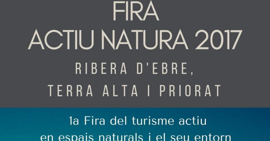 Fira Actiu Natura. 1a Fira del turisme actiu en espais naturals i el seu entorn