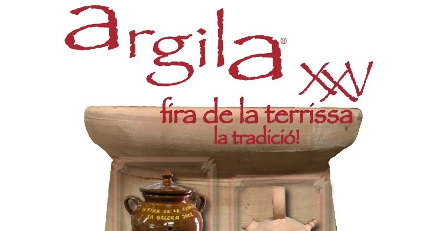 Argila. XXV Fira de la Terrissa de La Galera