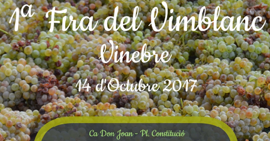 17è Cap de setmana ibèric a Vinebre i 1a Fira del Vimblanc