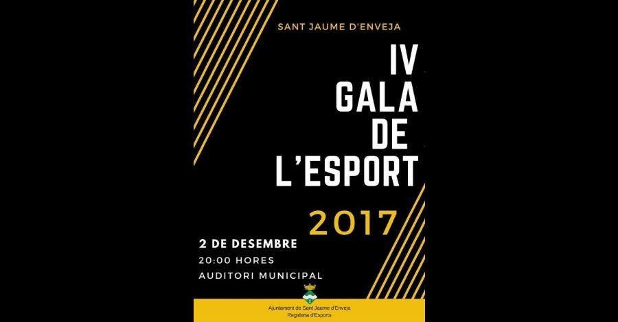 IV Gala de l'Esport 2017