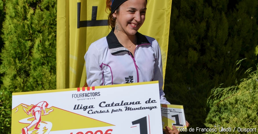 Gemma Colomé guanya la 1a Lliga Catalana de Curses per Muntanya