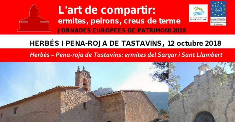Herbés i Pena-Roja de Tastavins: ermites del Sargar i Sant Llambert