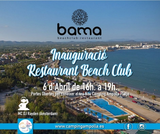 Inauguració Restaurant Beach Club