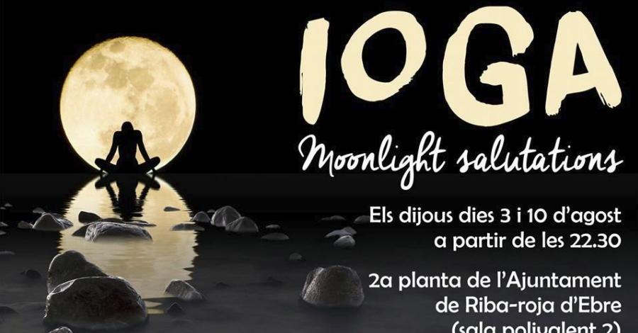 Ioga nocturn a Riba-roja d'Ebre