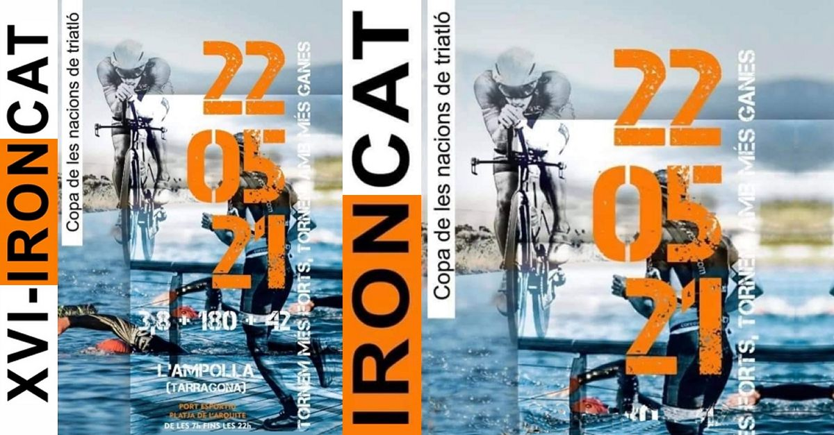 16º IRONCAT - Triatlón larga distancia
