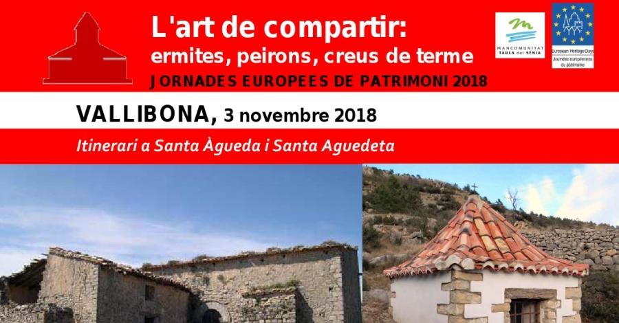 Itinerari a Santa Àgueda i Santa Aguedeta