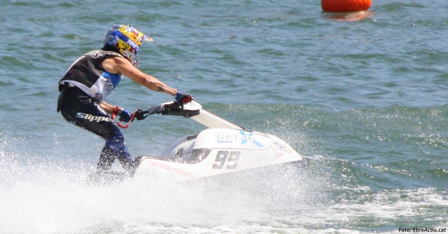 L´ampostí Jordi Tomàs, subcampió d´Europa de motos aquàtiques