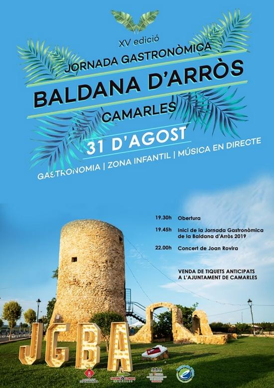 XV edició Jornada Gastronòmica Baldana d'Arròs