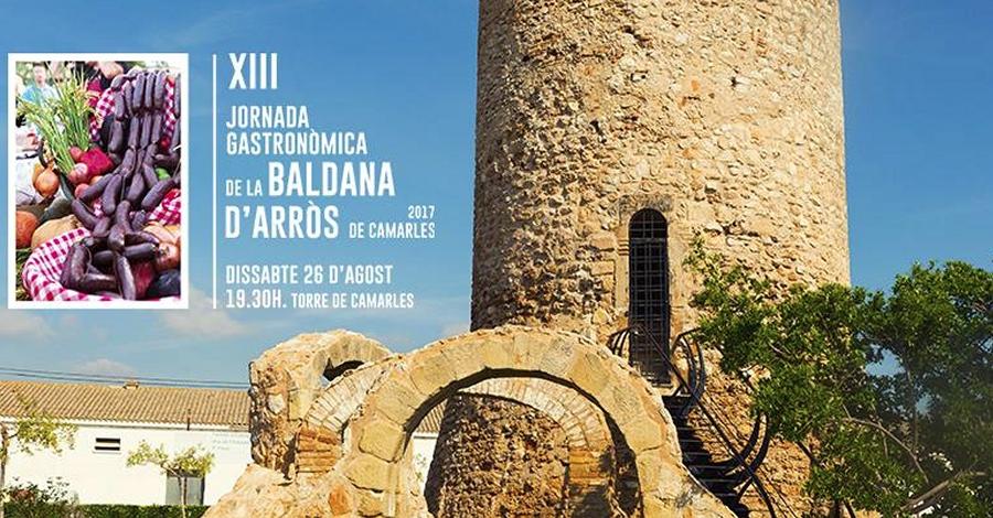 XIII Jornada gastronòmica de la baldana d'arròs de Camarles