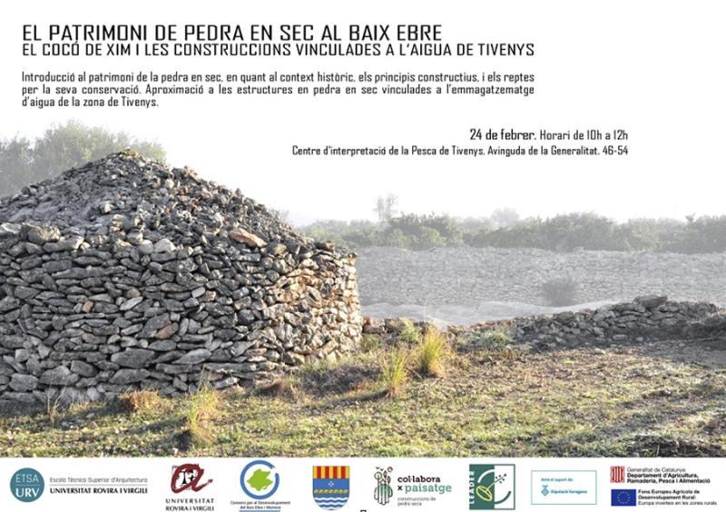 Jornada sobre el patrimoni de pedra en sec al Baix Ebre | EbreActiu.cat, revista digital per a la gent activa