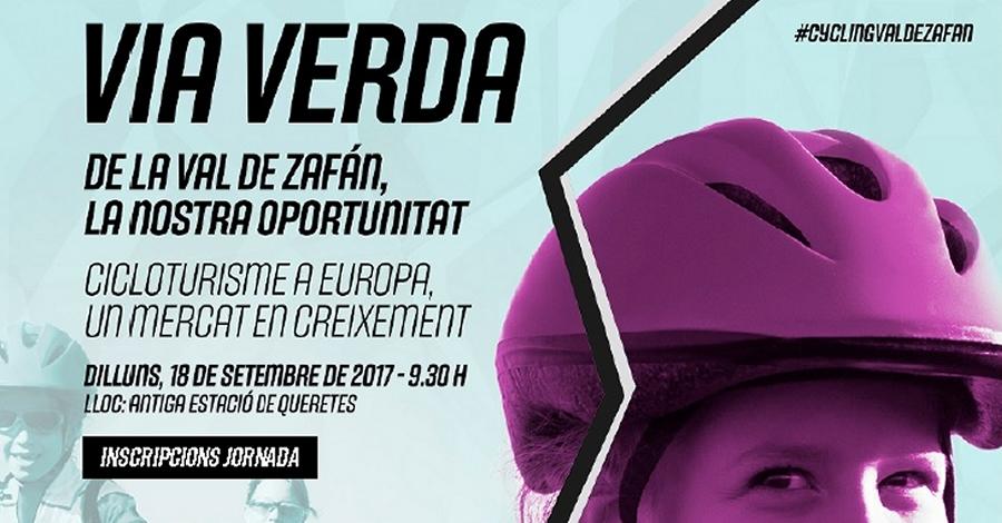 Jornada sobre cicloturisme a la Via Verda de la Val de Zafán