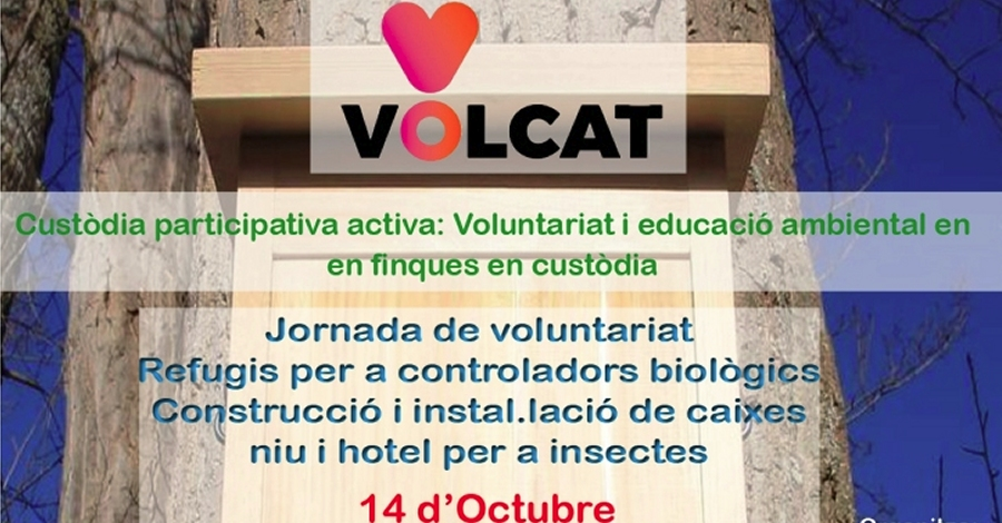4a Jornada de voluntariat projecte VOLCAT 2017