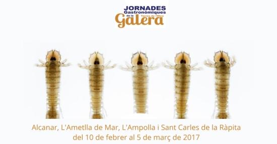 Jornades Gastronòmiques de la Galera de les Terres de l'Ebre - Alcanar, L'Ametlla de Mar, L'Ampolla, Sant Carles de la Ràpita
