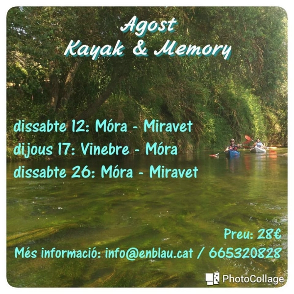 Kayak & Memory Miravet