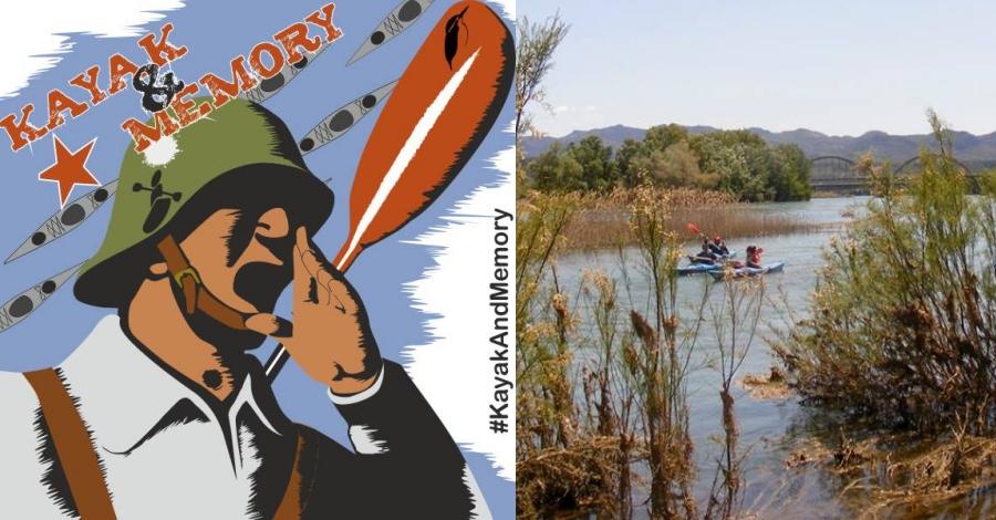 Kayak & Memory. Un viatge en caiac per l'Ebre i a través de la historia de la Guerra Civil
