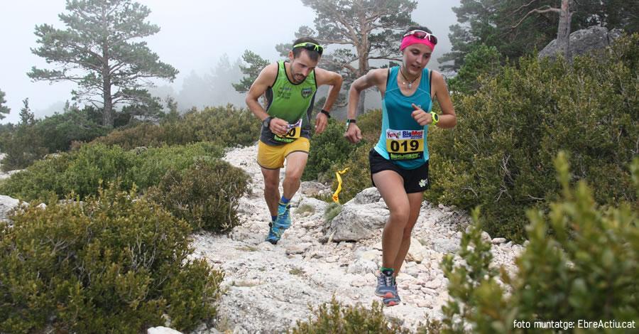 Cuesta i Colomé guanyen el 8è Km Vertical de Roquetes més dur i exigent