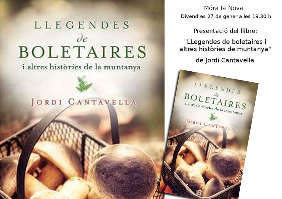 Presentació del llibre «Llegendes de Boletaires i altres històries de muntanya»