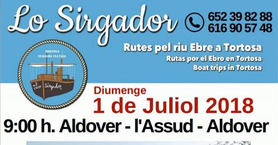 Lo Sirgador: Aldover – L'Assud – Aldover
