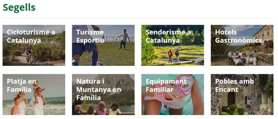 Gratuïtat d'adhesió a les marques i segells de l'Agència Catalana de Turisme  | EbreActiu.cat, revista digital per a la gent activa