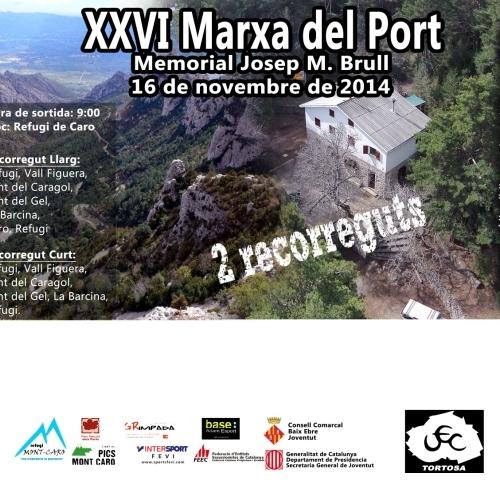 26a edició de la popular MARXA DEL PORT (Memorial Josep M. Brull)
