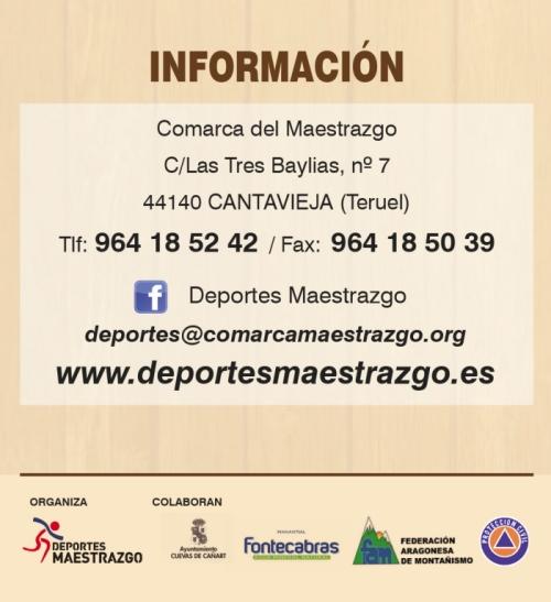 Els senderistes del  Maestrat es donaran cita aquest any a les Coves de Cañart | EbreActiu.cat, revista digital per a la gent activa | Terres de l