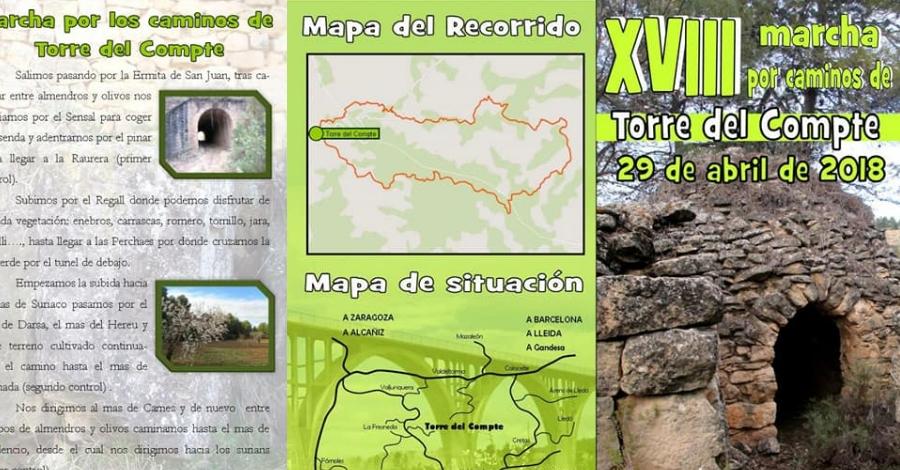 XVIII Marxa per camins de Torre del Compte (Matarranya)