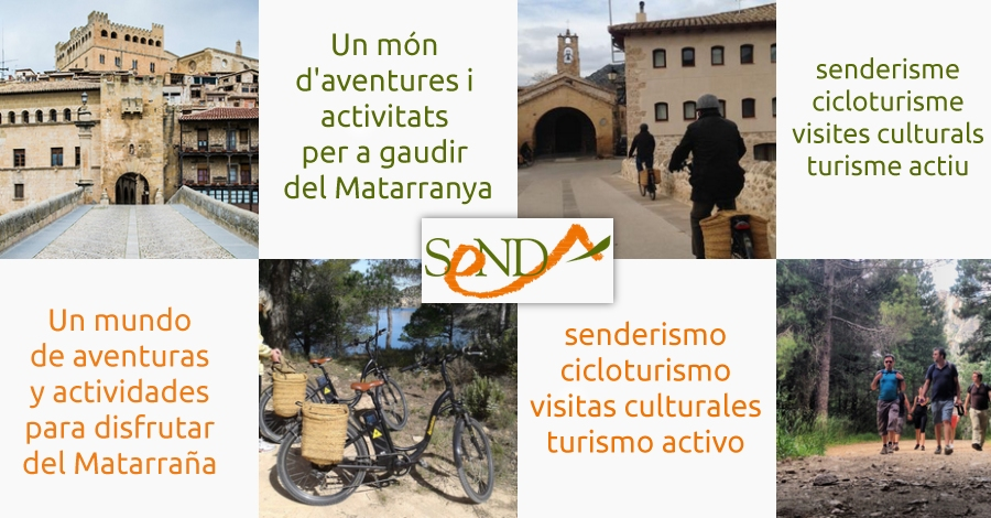 Senda: activitats al Matarranya