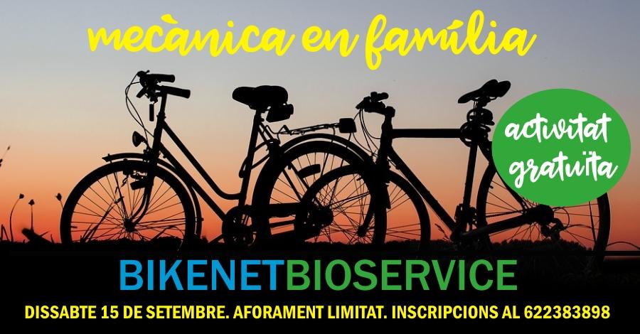 Mecànica per a families a BikenetBioservice