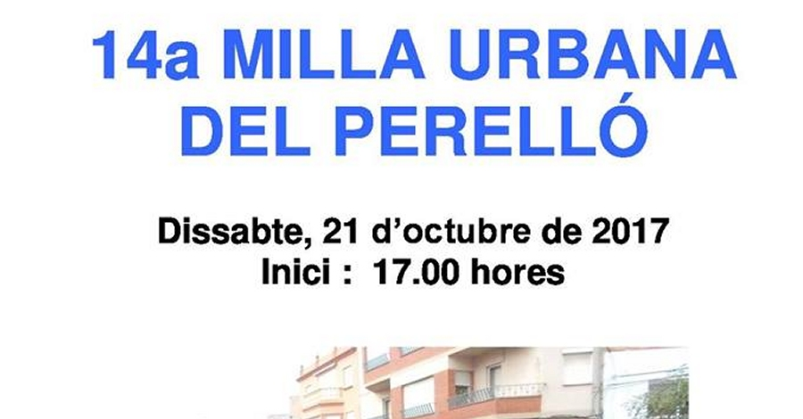 14a Milla urbana del Perelló
