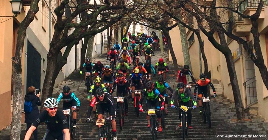 Morella es converteix en el circuit ideal per als i les bikers de la MedXtrem | EbreActiu.cat, revista digital per a la gent activa | Terres de l