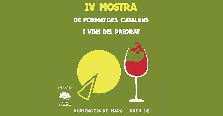 IV Mostra de formatges catalans i vins del Priorat