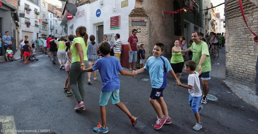 El Correfoc i la Dansa de Tivissa, declarades festes culturals i tradicionals d'interès comarcal