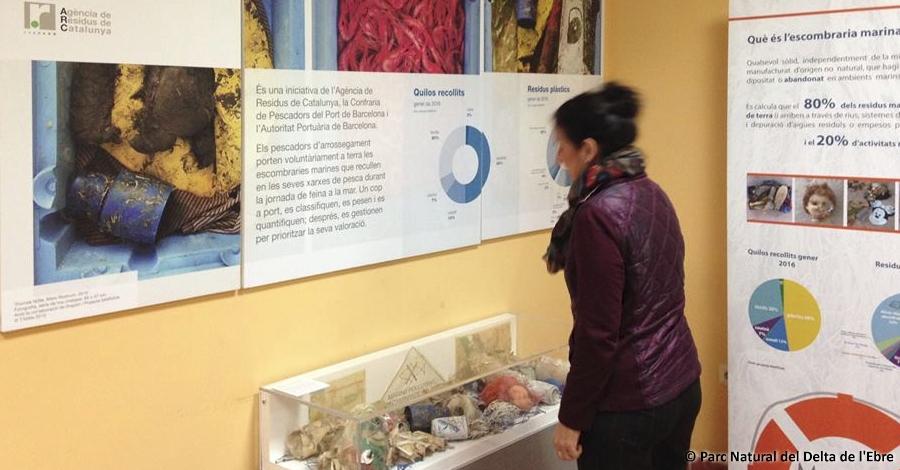 L'exposició Marviva arriba al Delta de l'Ebre