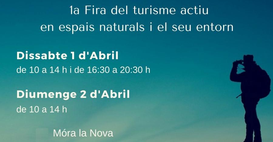 Móra la Nova organitzarà la «Fira Actiu Natura» per a promoure els actius turístics d'aventura del territori