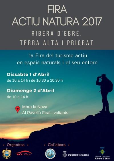 Móra la Nova organitzarà la «Fira Actiu Natura» per a promoure els actius turístics d'aventura del territori  | EbreActiu.cat, revista digital per a la gent activa