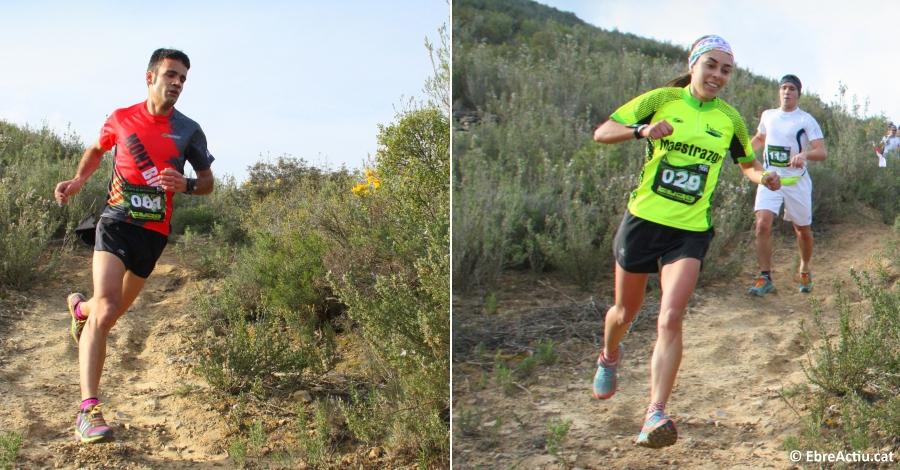 Lluisma Mas i Paula Espinach guanyen la 10a Cursa de la Serra de les Fites